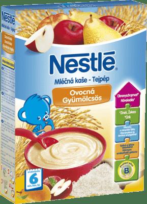 NESTLÉ mliečna ovocná kaša 250g