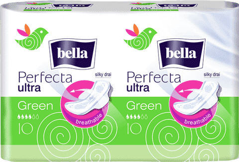 BELLA Perfecta green duo 20 ks (10+10)