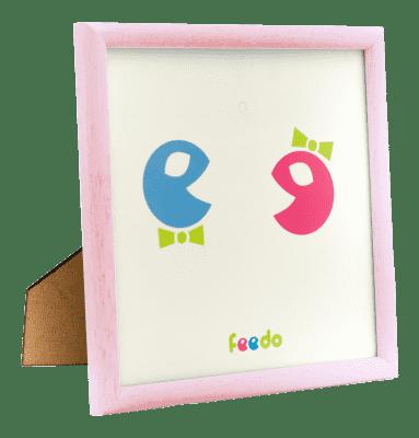 FEEDO rámček ružový (Feedo klub)