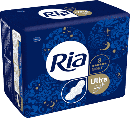 Ria Ultra Silk Night (8 ks)
