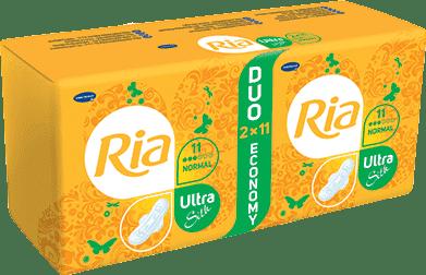 Ria Ultra Silk Normal Duopack (2 x 11ks)