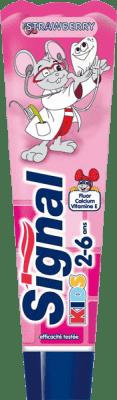 Signal detská zubná pasta Strawberry 50ml (2 - 6 rokov)