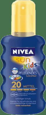 NIVEA Sun Kolorowy spray do opalania dla dzieci OF 20, 200ml
