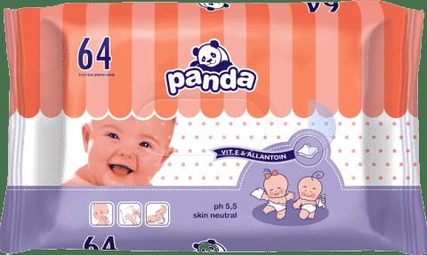 BELLA PANDA Vlhčené ubrousky (64 ks)