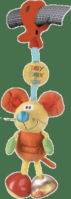 PLAYGRO Závesná myška s klipom