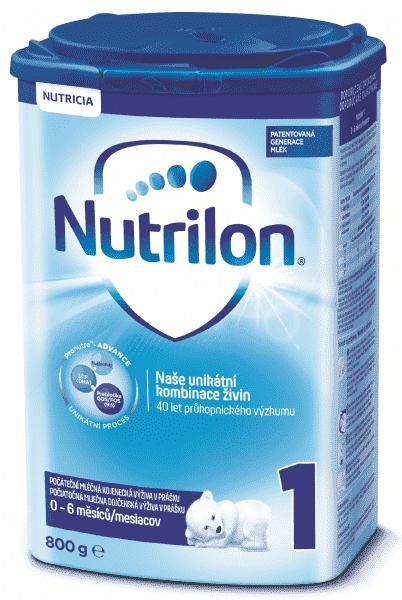 Dojčenské mlieko Nutrilon