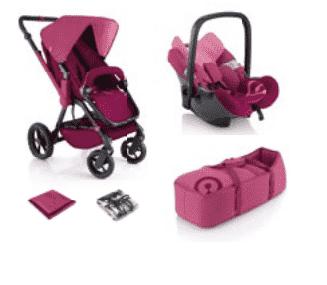 Concord wanderer basic set 2013 pink