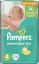 PAMPERS Active Baby 4 MAXI 76ks (7-14kg) GIANT PACK - jednorázové plienky