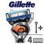 GILLETTE Flexball Fusion ProGlide holící strojek + Fusion ProGlide hlavice 4 ks