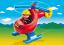PLAYMOBIL Požiarny helikoptéra (1.2.3)