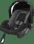 AXKID Babyfix autosedačka 0 - 13 kg Grey + Babyfix základna (ISOFIX/Pás) Black