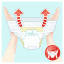 PAMPERS Pants 6, 19ks (15+ kg) CARRY Pack - plenkové kalhotky