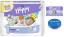 2x BELLA HAPPY Newborn 1 plienky (2-5 kg) 78 ks + Indulona Telový krém 75 ml + Happy Wipes 24 ks