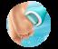 SCHOLL VS Elekrtický pilník na chodidlá do vody + Rotačná hlavica Extra drsná 2 ks