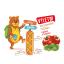 2x HAMI Výletní zeleninové tyčinky Rajče a Bazalka 100 g, 10+